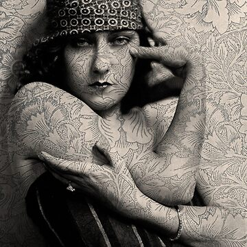 The Gloria Swanson Tattoo by tillymagoo