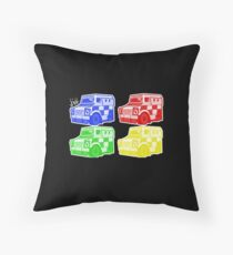 Peelers Throw Pillow