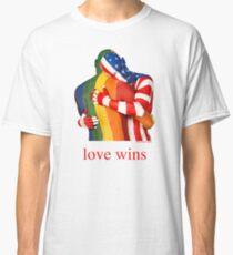 Love Wins - Rainbow Pride Classic T-Shirt