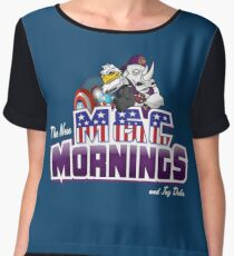 The New M&C Mornings Chiffon Top