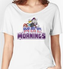 The New M&C Mornings Women's Relaxed Fit T-Shirt