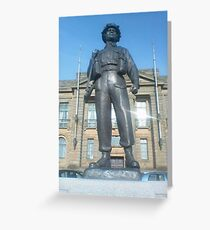 Ary Statue Greeting Card