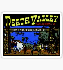Furnace Creek Ranch Death Valley National Park Sticker