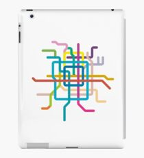 Mini Metros - Beijing, China iPad Case/Skin