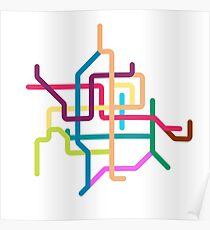 Mini Metros - Guangzhou, China Poster