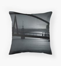 Smoggy Afternoon Throw Pillow
