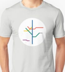Mini Metros - Sao Paulo, Brazil Unisex T-Shirt