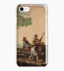 Francisco De Goya Y Lucientes - A Fight At The Venta Nueva iPhone Case/Skin