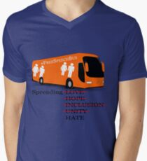 Anti Free Speech Bus - Anti Hate  T-Shirt