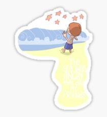 Angry Sea Sticker