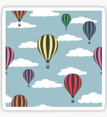 Colorful hot air balloons Sticker