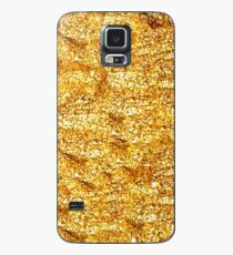 Gold Glittering Gold Case/Skin for Samsung Galaxy