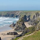 Carnewas & Bedruthan Steps, Cornwall by Tizz07