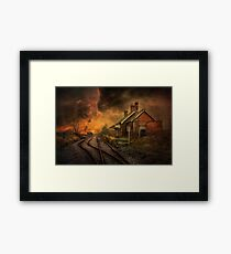 Lydd Station Framed Print