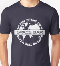 Hitting the Spacebar Unisex T-Shirt