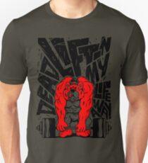 Tuff Toons - Deadlifting My Life Away Unisex T-Shirt