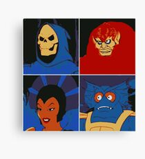 Four Masters Canvas Print