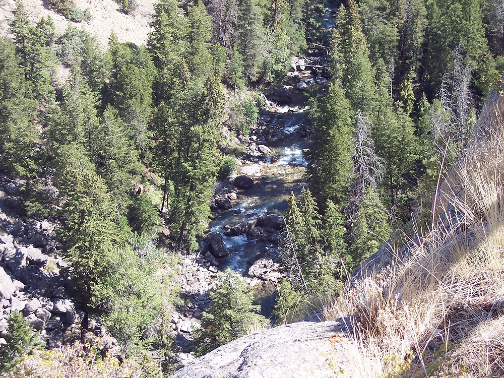 Colorado Waterfall by Lainey Simon