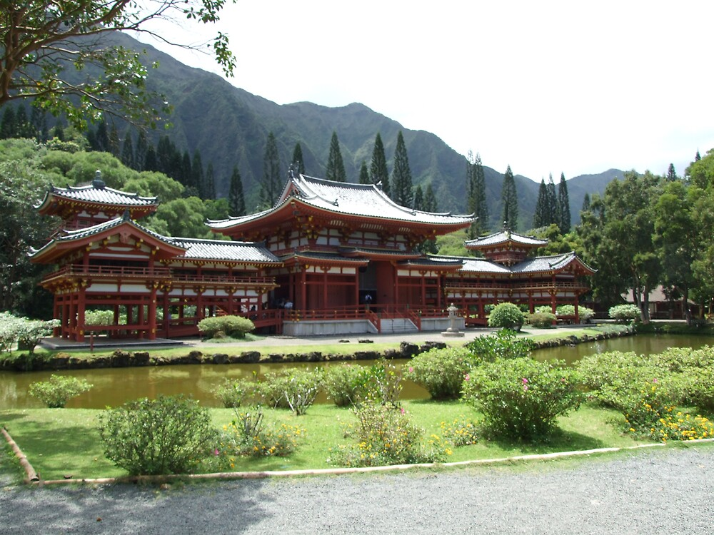 Buddha Temple by Lainey Simon