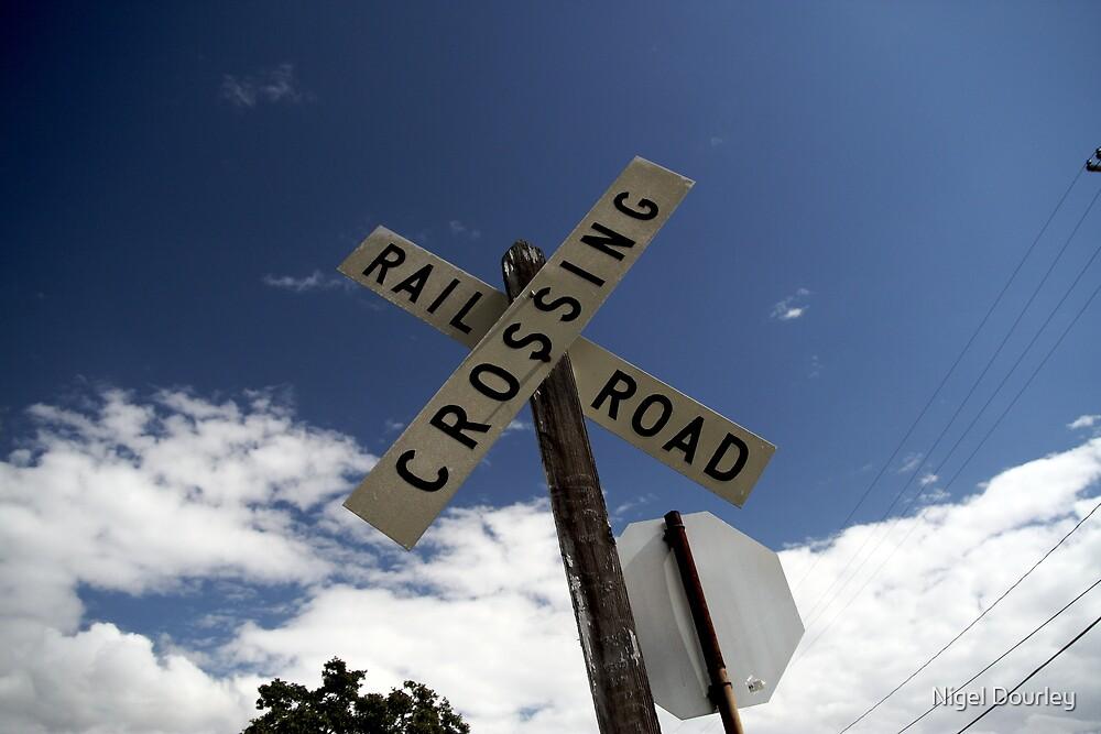 Railroad Crossing by Nigel Dourley