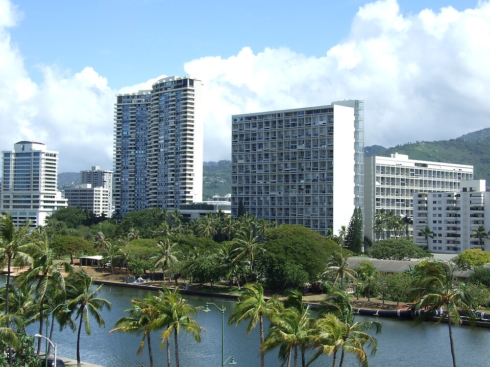 Downtown Hawaii by Lainey Simon