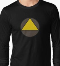 Legion Yellow Triangle Circle David Haller Long Sleeve T-Shirt