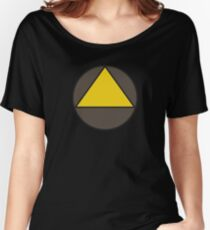 Legion Yellow Triangle Circle David Haller Women's Relaxed Fit T-Shirt