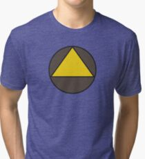 Legion Yellow Triangle Circle David Haller Tri-blend T-Shirt