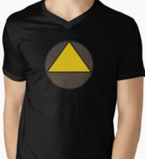 Legion Yellow Triangle Circle David Haller Mens V-Neck T-Shirt