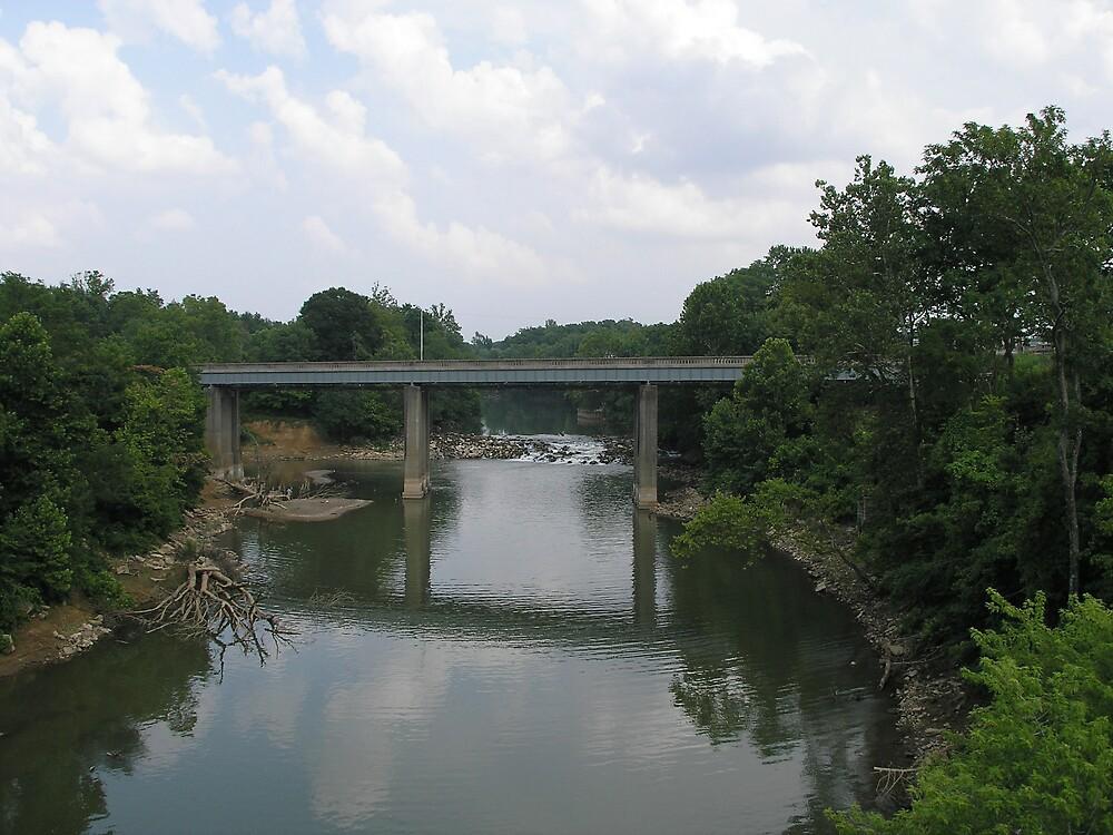 River Bridge by C Hudgins