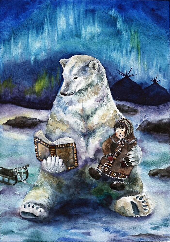 Polar tales // bear by AnnaShell