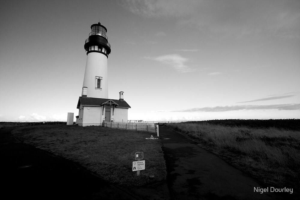 Yaquina Head Lighthouse by Nigel Dourley