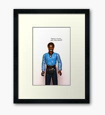 iPhone Case - Lando ESB Framed Print