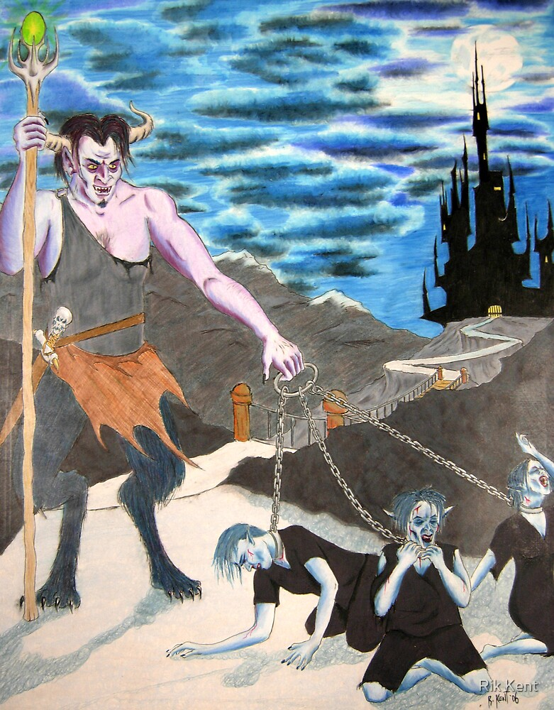 Slaves of the Dark Lord by Rik Kent