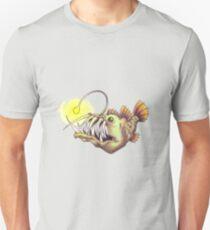 deep sea angler fish Unisex T-Shirt