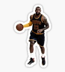 lebrun james sticker Sticker