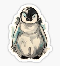 Grumpy Baby Penguin  Sticker