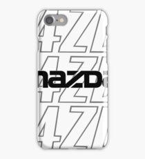 Classic Mazda vs New Mazda  iPhone Case/Skin
