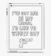 Black Widow Quote iPad Case/Skin
