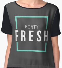 Minty fresh 2 Chiffon Top