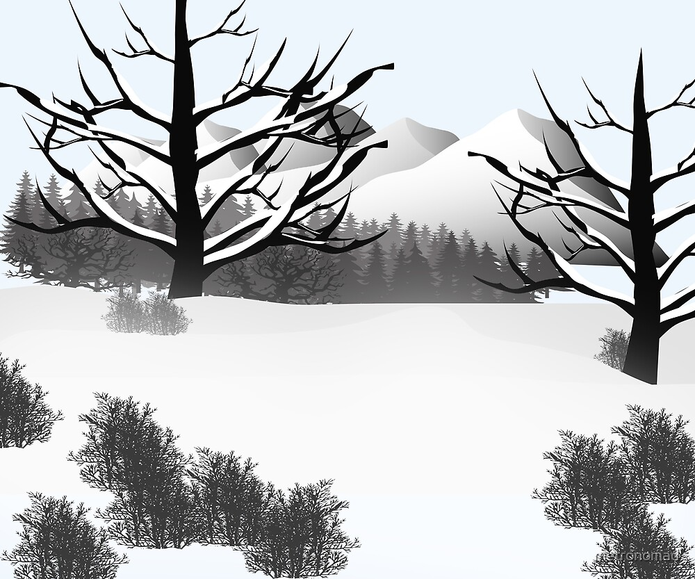 Winter Landscape by metronomad
