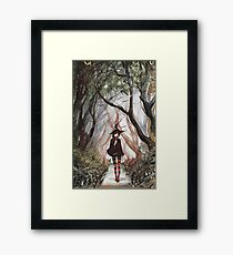 Ephemeral Nocturne- Watercolor Piece Framed Print