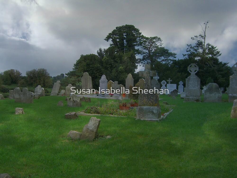 Old Nobber Graveyard by Susan Isabella  Sheehan
