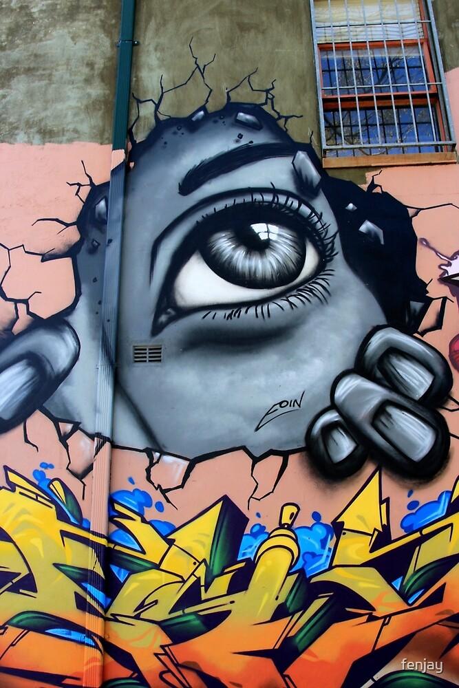 Street Art: global edition # 2 by fenjay