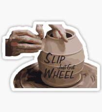 Slip Just Got Wheel Sticker