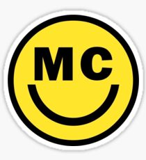 MC Smiley Logo Sticker