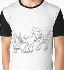 Kitty boos on the prowl Graphic T-Shirt