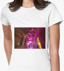 Ghostly Laneways Women's Fitted T-Shirt