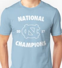 2017 NCAA National Champions UNC T-Shirt