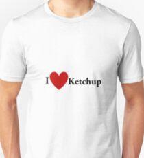 I Heart Ketchup  Unisex T-Shirt